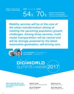 Smart mobility : Du développement de la voiture autonome à son intégration au sein de la smart city