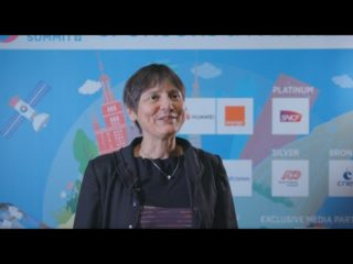 DigiWorld Summit 2019 – Interview de Sandrine LAFONT, CNES